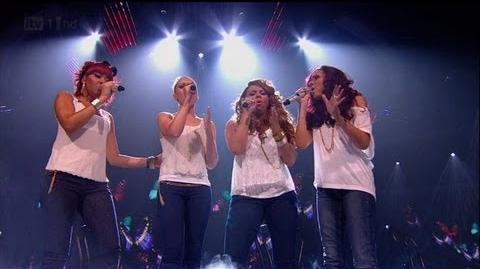 Little Mix let their vocals out - The X Factor 2011 Live Show 8 - itv