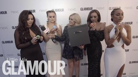What happened Backstage at Women of The Year Awards 2016 Glamour UK