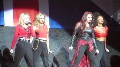 Little Mix - DNA - The Neon Lights Tour - Anaheim, CA - 13 Feb 2014
