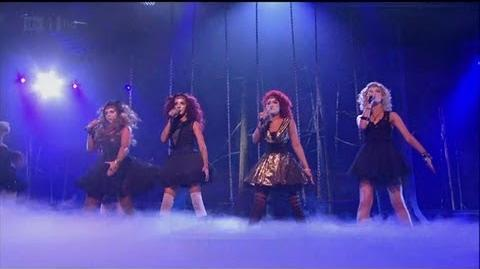 Little Mix are alien on Halloween Week - The X Factor 2011 Live Show 4 - itv.com xfactor