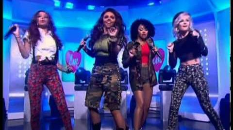 Little Mix latest single Wings live on This Morning