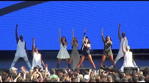 DNA - Little Mix @ Billboard Hot 100 Music Festival - August 22, 2015