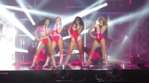 Little Mix - Hair - Get Weird Tour - at the BIC, Bournemouth on 15 03 2016