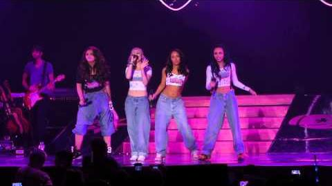 Little Mix - We Are Who We Are - DNA Tour - at the BIC, Bournemouth on 16 02 2013