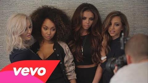 Little Mix - Behind the Scenes Photoshoot
