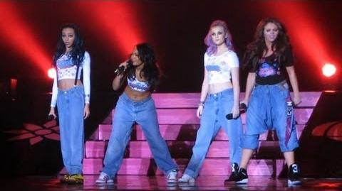 Little Mix - Love Drunk - DNA Tour - at the BIC, Bournemouth on 16 02 2013