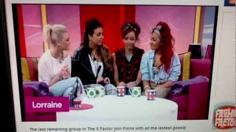Little Mix on Lorraine