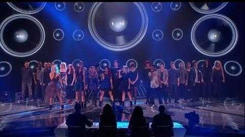 Finalists fill the stage - The X Factor 2011 Live Final - itv.com xfactor