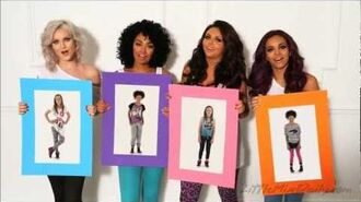 Little Mix's commerical for their Primark clothing range