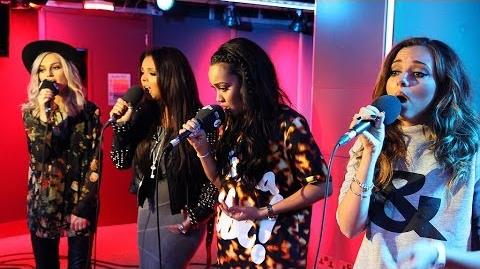 Little Mix - Holy Grail Counting Stars Smells Like Teen Spirit in the Live Lounge