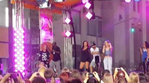Little Mix - Wings Rehearsal - Today Show Concert 8 19 15