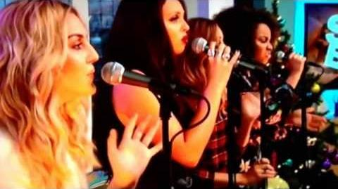 Little Mix performing ' Little Me ' on Sunday Brunch 15 12 2013