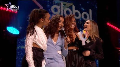 Little Mix win 'Best Group' at The Global Awards 2018