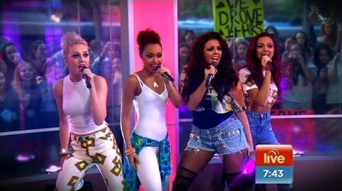 Sunrise - Little Mix perform Wings