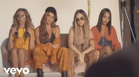 Little Mix - Glory Days Platinum Edition Photoshoot (Behind The Scenes)
