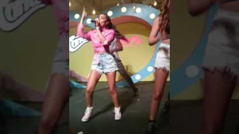 Little Mix - Wings at cornetto event
