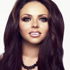 Jesy wearing her day makeup