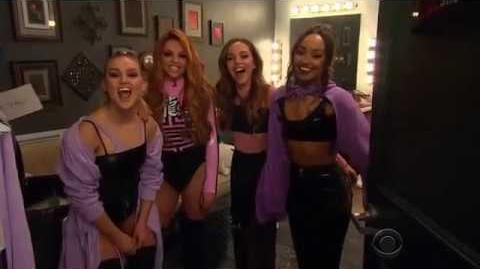James Corden Introducing Little Mix On The Late Late Show 3 29 17