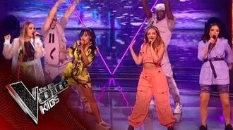 Little Mix perform 'Bounce Back' - The Final - The Voice Kids UK 2019