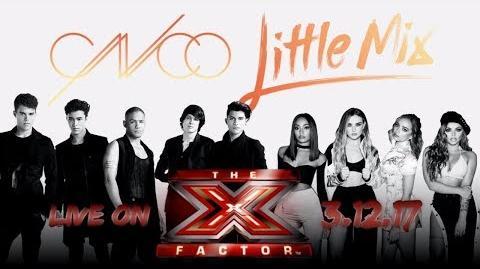 Little Mix & CNCO - (Power & Reggaeton Lento Remix The X Factor UK 2017)