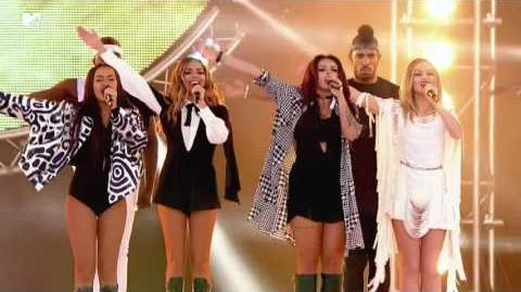 Little Mix - Salute (MTV Crashes Plymouth 2015)