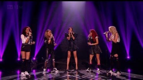 Little Mix get a FIFTH member - The X Factor 2011 Live Final - itv