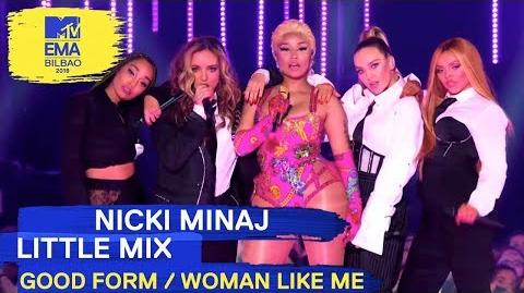 "Woman Like Me"" Live - MTV EMAs 2018"