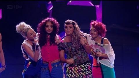 Our Rhythmix girls go all Nelly Furtado - The X Factor 2011 Live Show 2 - itv