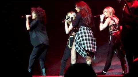 "Little Mix ""Salute"" Performance at Neon Lights Tour San Jose"