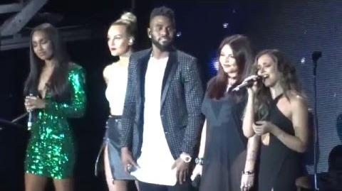 Jason Derulo & Little Mix - Secret Love song - O2 Arena - 05 02 16