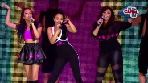 Little Mix perform 'Wings' on Capital Jingle Bell Ball (08 December 2012)