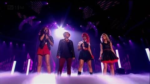 Little Mix do a Beyonce - The X Factor 2011 Live Semi-Final - itv.com xfactor