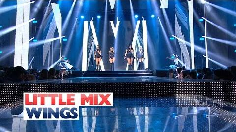 Little Mix - 'Wings' (Sunday Performance) (Live At The Jingle Bell Ball 2015)