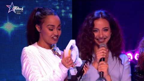 Little Mix win 'Best Song' at The Global Awards 2018