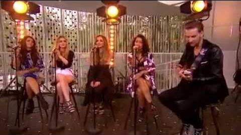 Little Mix - Black Magic Acoustic LIVE in Go' Morgen Danmark September 12 2015