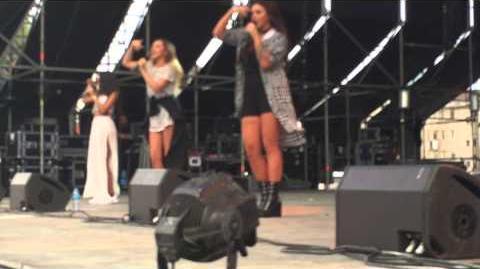 Black Magic- -Little Mix - Gibraltar Music Festival 05-09-15