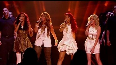 Little Mix sing Cannonball - The X Factor 2011 Live Final - itv.com xfactor