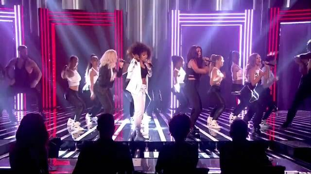 Little Mix Performing 'Move' on The X Factor UK - 03 11 13