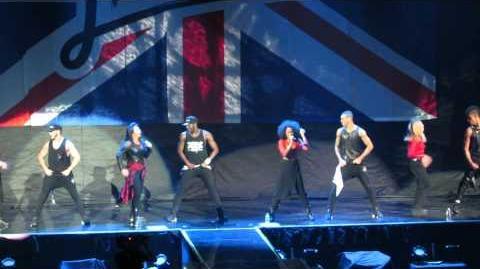 """""""Move"""" - Little Mix - Neon Lights Tour - Anaheim, CA - 02 13 14 - HD"""