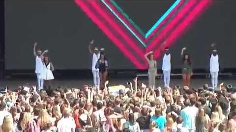Salute Little Mix @ Billboard Hot 100 Music Festival - August 22, 2015