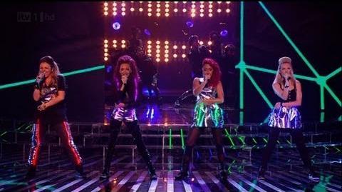 Little Mix do their best Rihanna - The X Factor 2011 Live Show 5 - itv.com xfactor