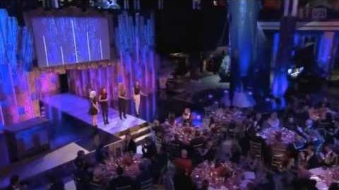 Little Mix performance at the Military Awards Night of Heroes 2011