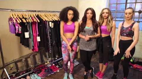 USA Pro X Little Mix SS16 Behind the Scenes