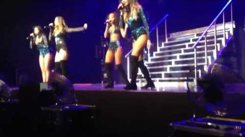 Little mix Wings live at the marquee, cork
