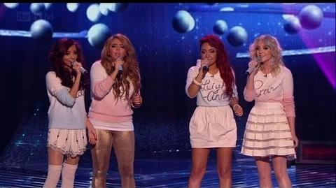 Christmas carols Little Mix stylee! - The X Factor 2011 Live Final - itv