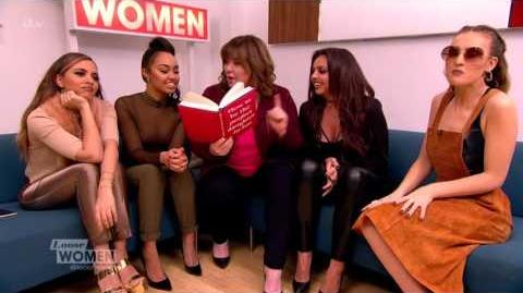 Little Mix Get The How To Be A Perfect Daught-In-Law Lesson From Coleen Loose Women