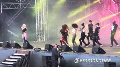 Little Mix - How Ya Doin' - North East Live