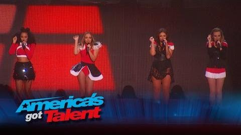 Little Mix & AcroArmy Team Up for Stunning Performance - America's Got Talent 2015