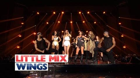 Little Mix - 'Wings'' (Live At The Jingle Bell Ball 2015)