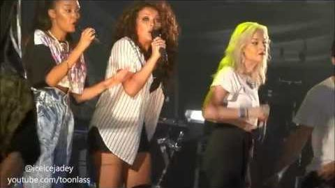Wings - Little Mix - Soundwaves - South Shields - 25th August 2013